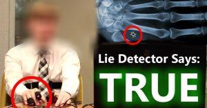 Mladík napojený na detektor lži tvrdí, že vie cestovať v čase. Po návrate z roku 2045 vraj vie, kto bude prezidentom