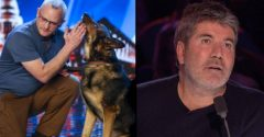 V talentovej šou zdieľal dojímavý príbeh policajného psa, s ktorým si vedia čítať myšlienky. Zachránil mu život
