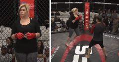 Matka troch detí sa rozhodla vstúpiť do MMA. Vo svojom 3. zápase dostala K.O. za menej ako 10 sekúnd