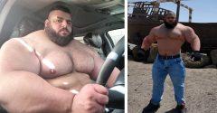 Iránsky Hulk vstupuje do MMA a jeden z UFC bojovníkov si už teraz naňho robí zálusk