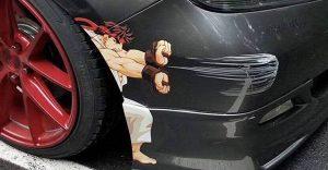 Kreatívne a vtipné spôsoby ako zamaskovať škrabance na vašom aute
