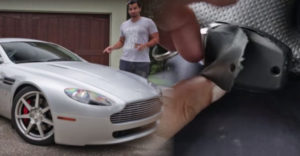 Pod kožou na diaľkovom ovládači od Astonu Martin sa ukrývala iná značka