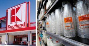 Kaufland ako jeden z prvých supermarketov na Slovensku skončil s predajom jednorazových plastových produktov