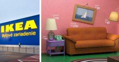 IKEA bude predávať nábytok inšpirovaný ikonickými seriálmi ako Priatelia, či Simpsonovci