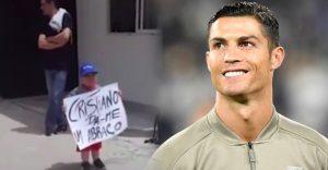 Ronaldo opäť dokázal, že má srdce na pravom mieste. Kvôli malému fanúšikovi zastavil tímový autobus