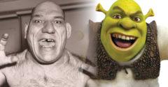Postava Shreka nie je výmyslom. Maurice Tillet bol údajne jeho živou predlohou