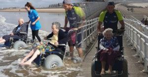 Dobrovoľníci vzali seniorov z domova dôchodcov k moru. Z fotiek vidieť ich radosť, ktorá bola tou najväčšou odmenou