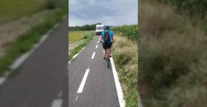 Keď si naoko vodič dodávky, no duchom cyklista (Nitra)