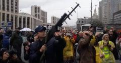 Ani hnúť! Zatýkanie dronu v Rusku