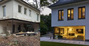 Architektka si kúpila starý dom a vytvorila z neho luxusné sídlo pre seba a svoju päťčlennú rodinu