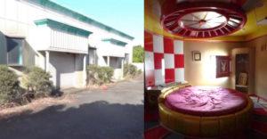 Fotograf narazil na opustený motel pre dospelých. Nechýbali tam špeciálne miestnosti či otočné postele