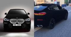 BMW X6 v najčiernejšej farbe na svete natočili naživo. Pôsobí ako auto z počítačovej hry